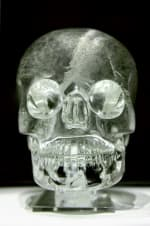 Crystal skull held at the British Museum